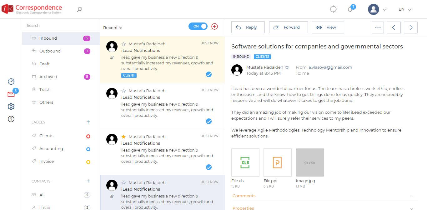 iCorrespondence-screenshot-4